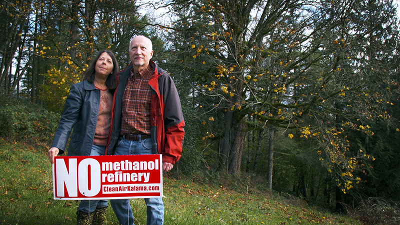 Washingtonians in the fight against the methanol refinery.
