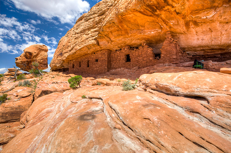 Cedar Mesa Citadel Ruins, Bears Ears National Monument.