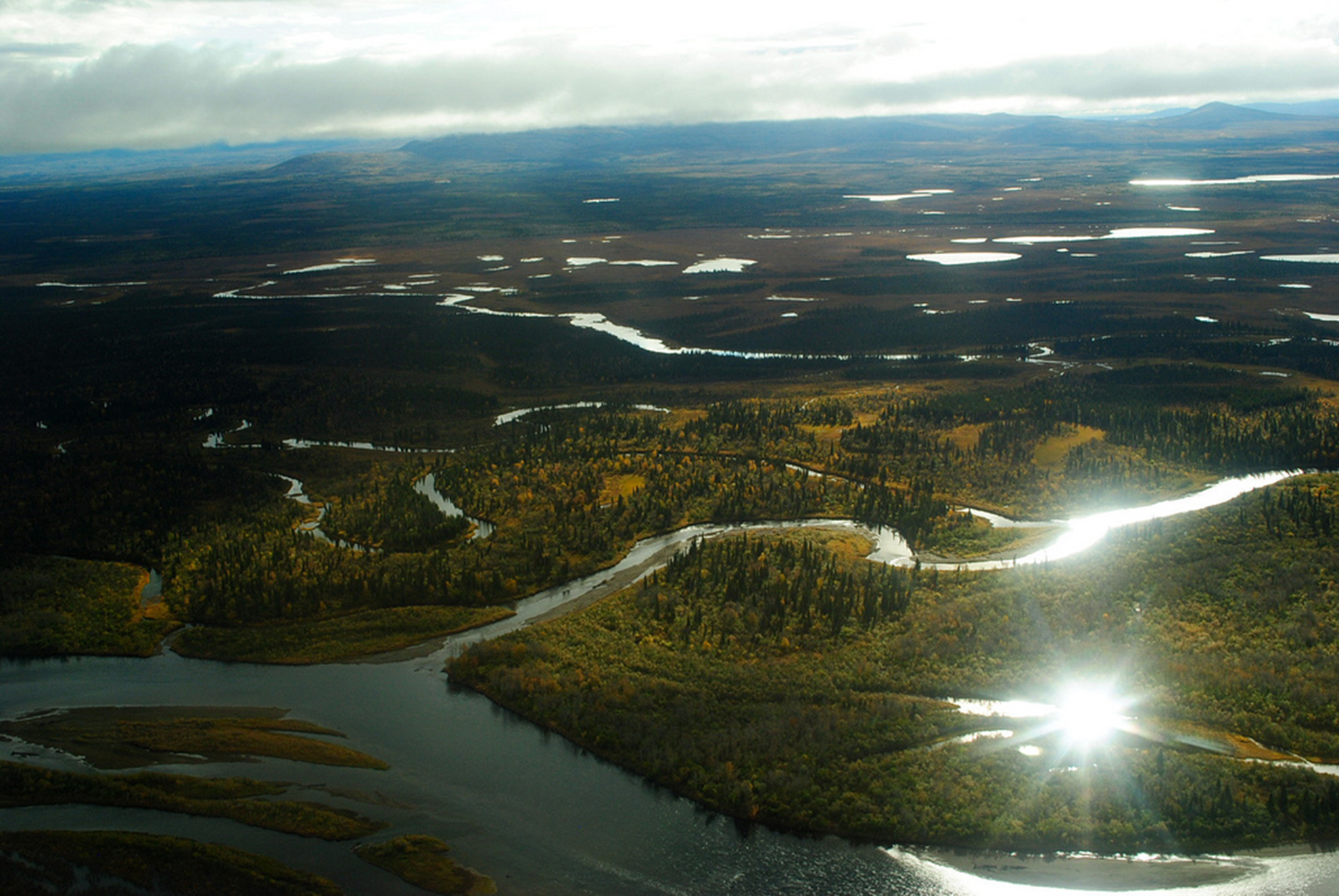 The Mulchatna River lies at the heart of the Nushagak watershed.
