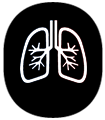 Graphic of lungs.