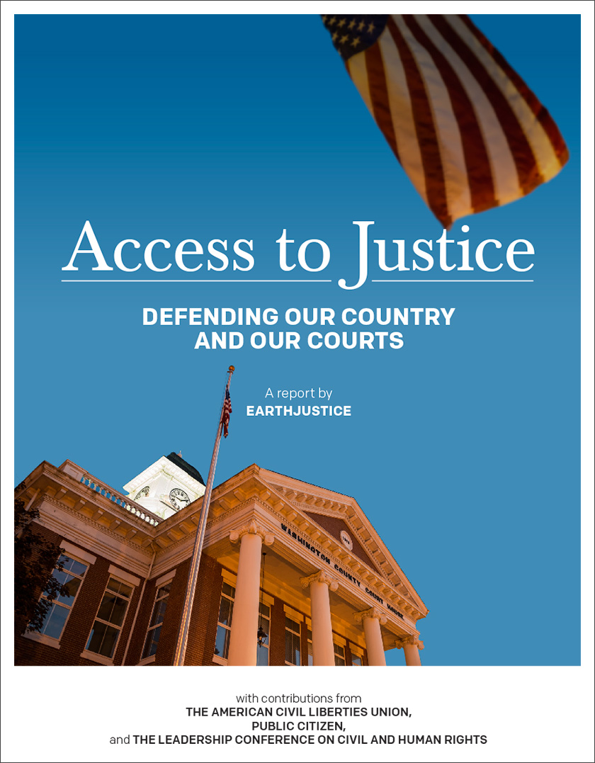 Access to Justice: Defending Our Country And Our Courts.