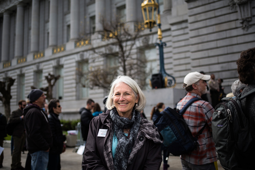 A number of Californians, including Karen Harrington, shared how they have been personally impacted by the growing intensity of the state's wildfires—and how the experience motivated them to fight the drivers of climate change.