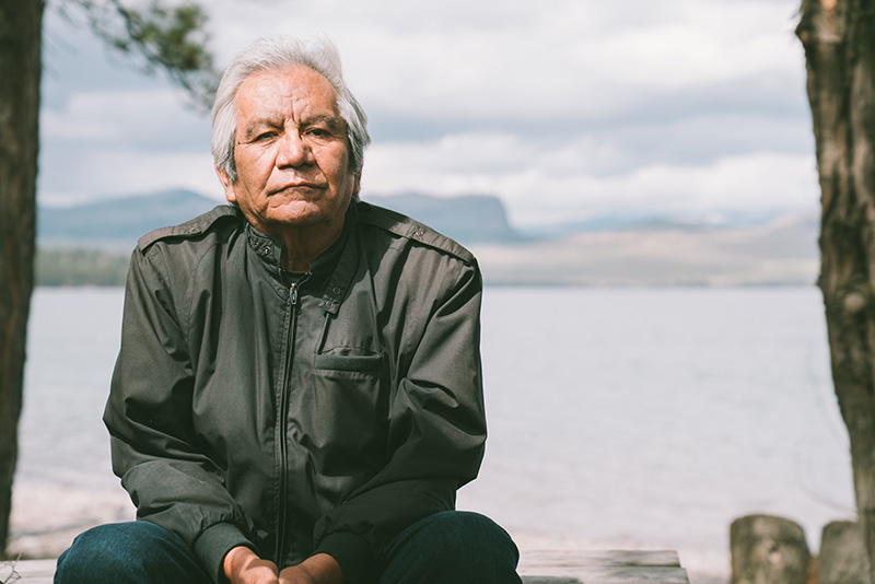 Ktunaxa tribal member Wilbert Michel Buckskin is working to bring together the seven bands that make up the Ktunaxa Nation to fight the proposed Rock Creek and Montanore mines.