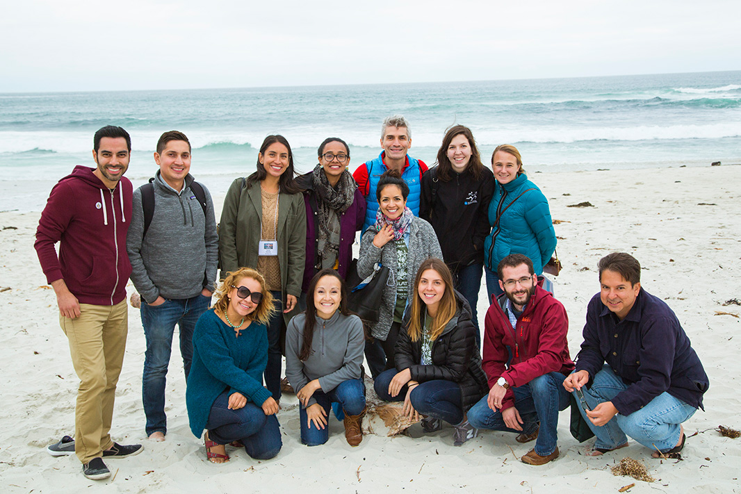 Earthjustice staff at 2017 National GreenLatinos Summit at Asilomar in Pacific Grove, CA.