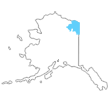Map of Arctic Refuge.