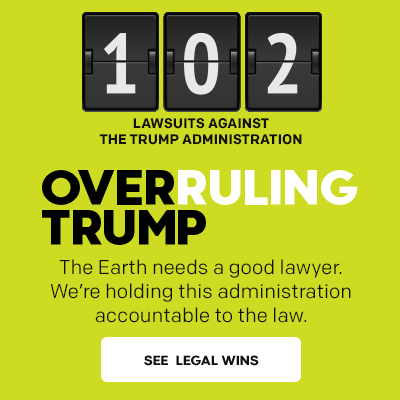 Overruling Trump: 102 lawsuits filed against the Trump administration.