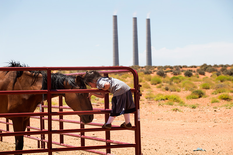 The Navajo Generating Station on the Navajo Nation, near Page, Ariz.