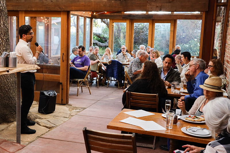 An event held for Earthjustice in Northern California, on June 4, 2019.