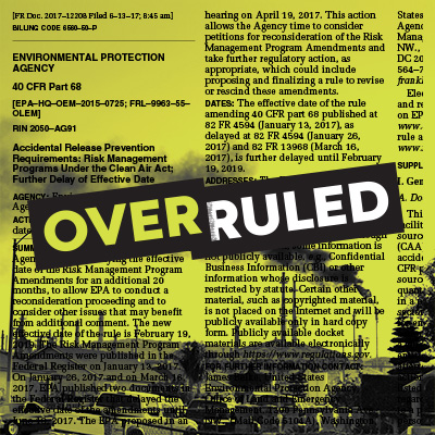 Overruled: Chemical Disaster Rule.