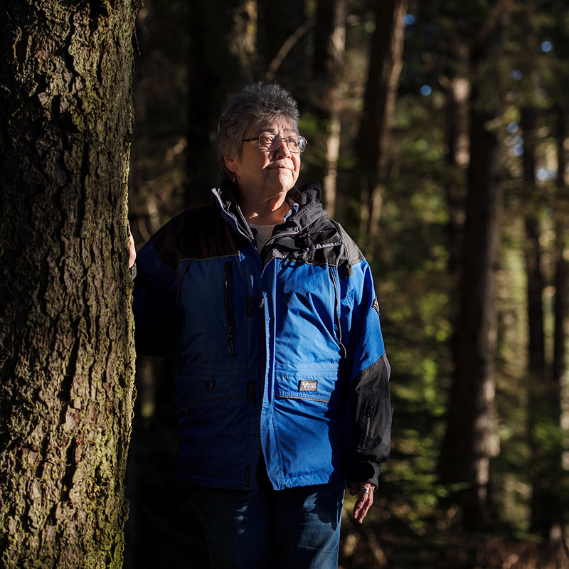 Wanda Culp and her colleagues at WECAN are fighting to defend the Tongass from logging.