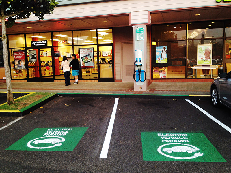 Charging stations in Mililani, Hi.