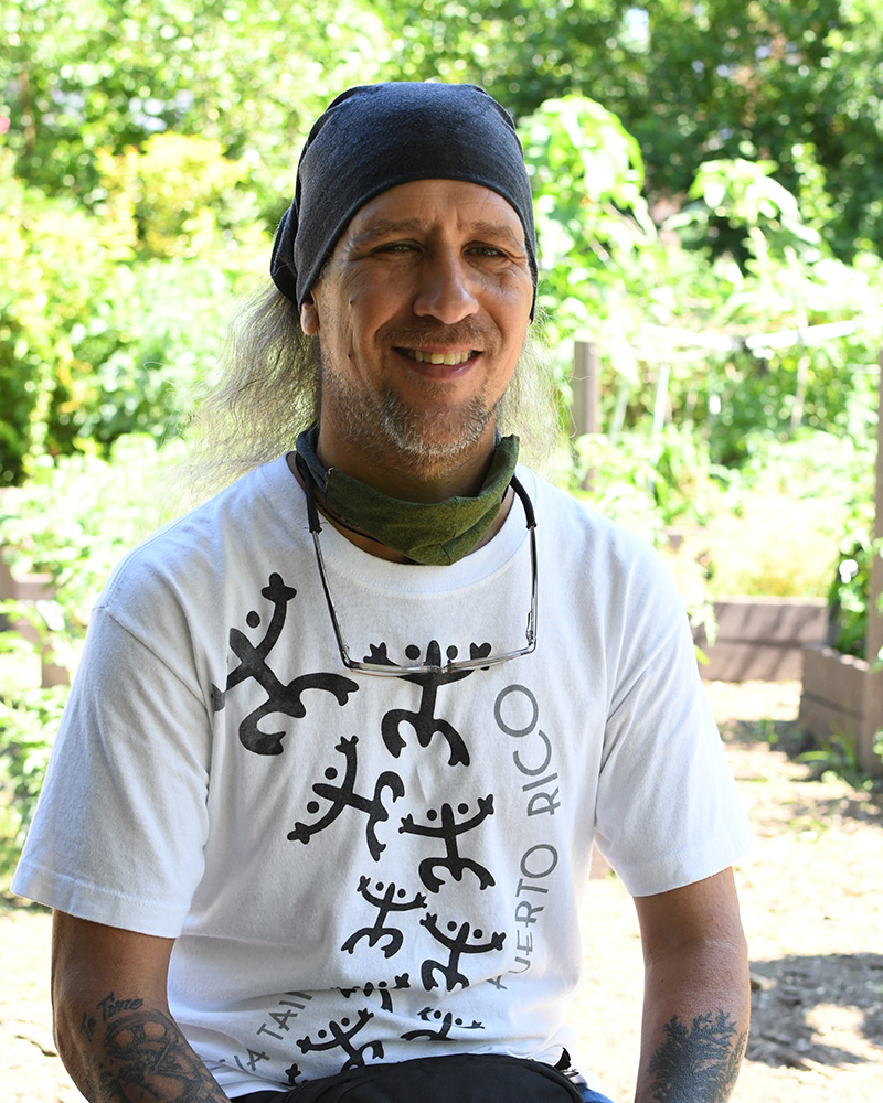 Rafael of Rainbow Garden of Life and Health, The South Bronx.