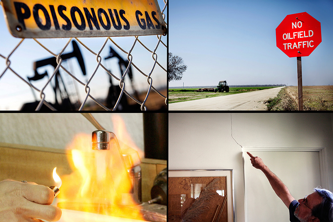 Air pollution, traffic problems, water contamination and earthquakes have occurred in communities near fracking sites.