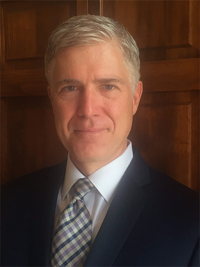 Judge Neil Gorsuch.