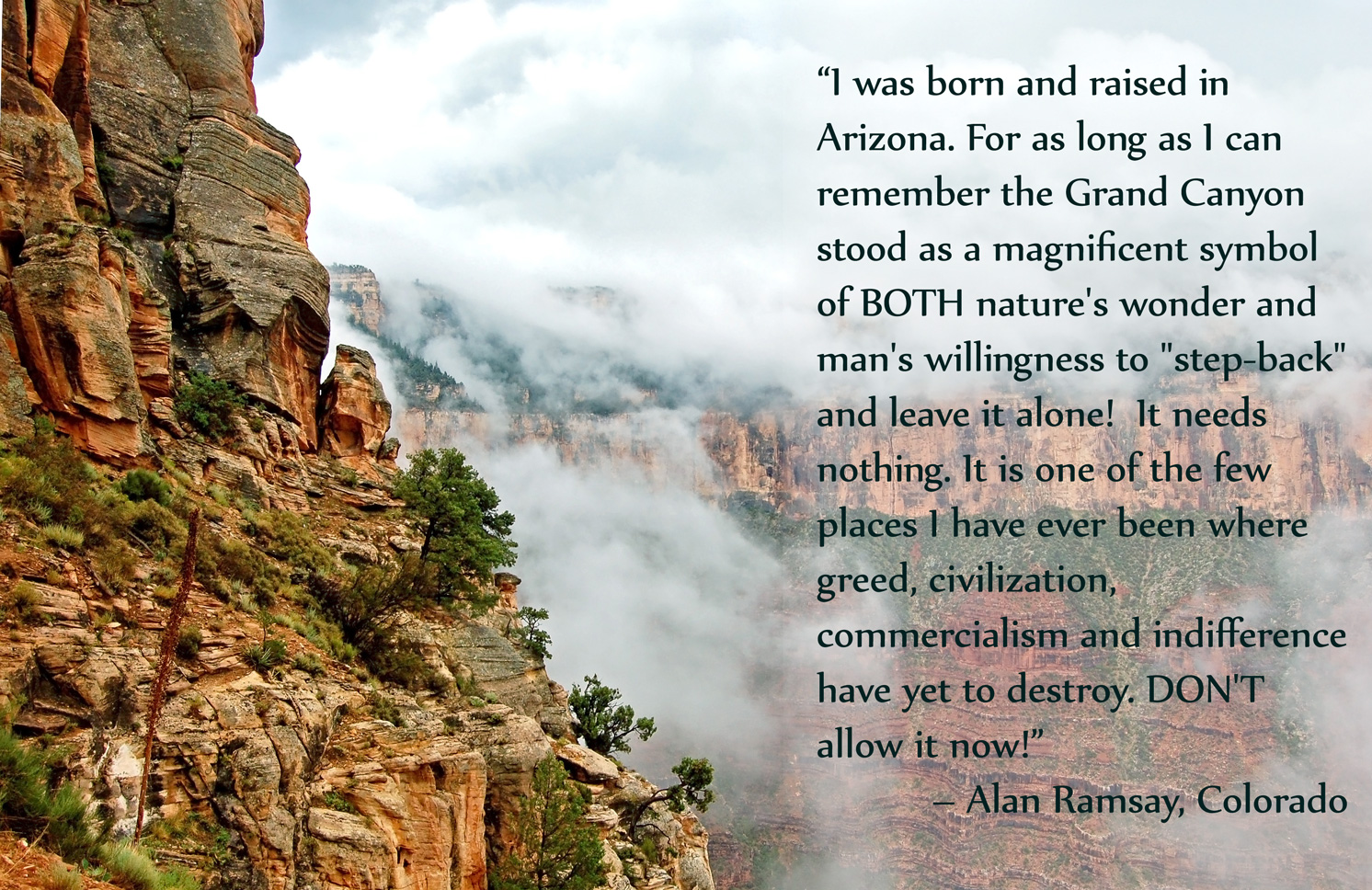 Keeping the Grand Canyon Wild   Earthjustice