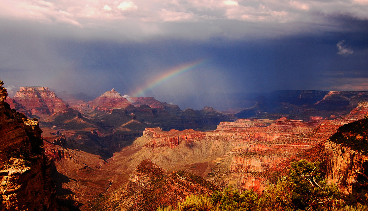 The Grand Canyon offers incredible views without human embellishment.