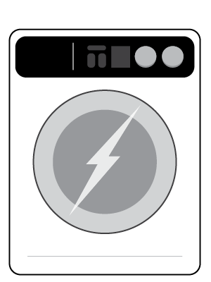 An electric dryer