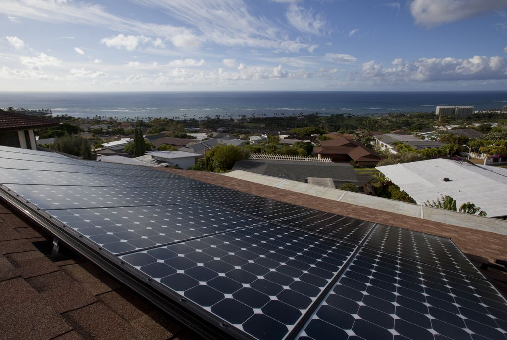 solar panel installation, Hawaii
