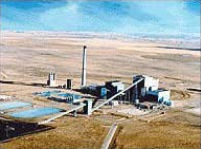The current Sunflower Electric Power Plant, Holcomb, KS. (DOE)