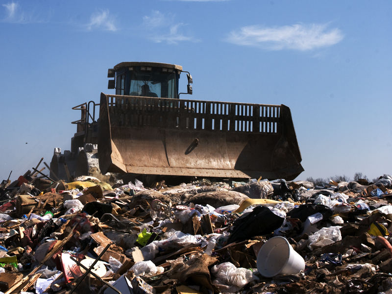 Landfills bring heavy truck traffic, putrid smells and pests to the surrounding community.