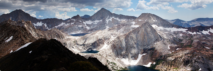 A stunning view from the Great Western Divide at Mineral King. (Chris Jordan-Bloch / Earthjustice)