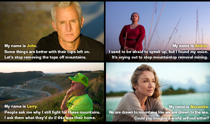 Mountain Heroes John Slattery and Amber Whittington.