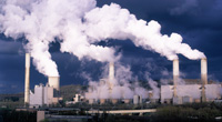 Coal-fired power plant. (iStock)