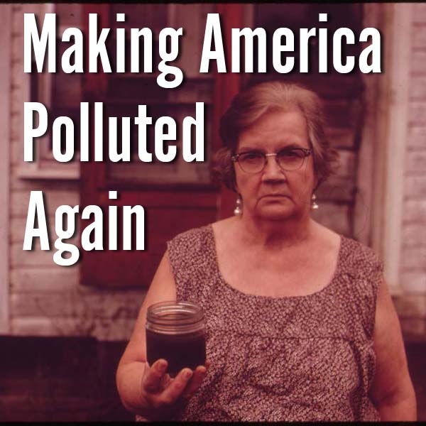 The recent slew of administration attacks on protections for clean water, clean air and food and worker safety could send America back to a time of unchecked pollution.These pictures show us the situation we could return to if we defang and defund the EPA.