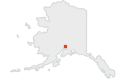 Location of the Matanuska-Susitna Valley.