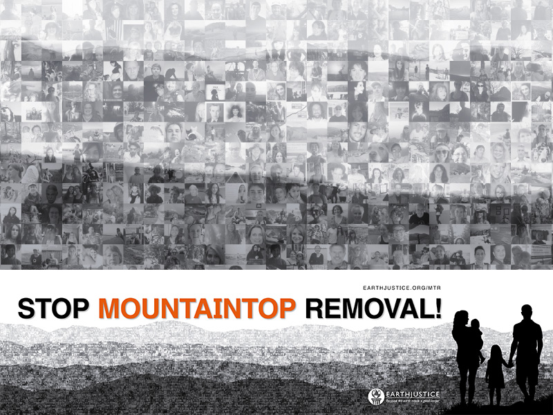 Images of Mountaintop Removal Mining