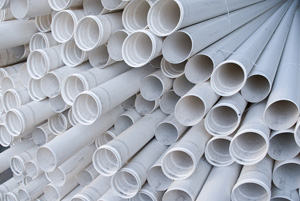 PVC pipes. (Shutterstock)