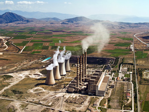 Coal-fired power plant. (Shutterstock)