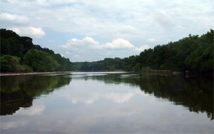 The Anacostia River.  (Earthjustice)