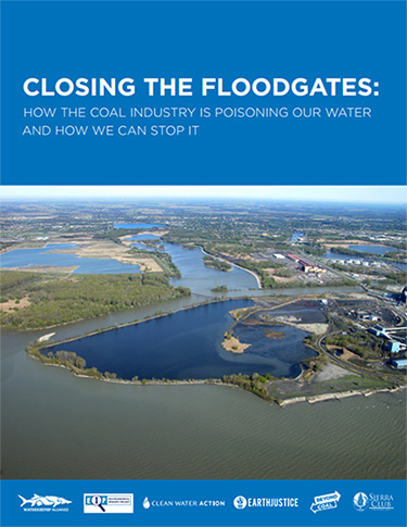 Cover of the report, 'Closing the Floodgates'.