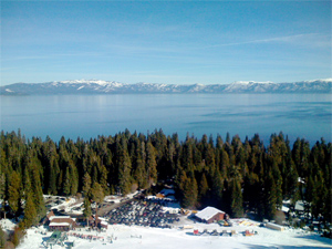Lake Tahoe, viewed from the hill at Homewood. (Christopher Carfi)