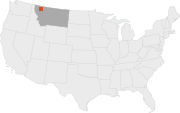 The Badger-Two Medicine area  is part of the Lewis and Clark National Forest, in northwestern Montana.