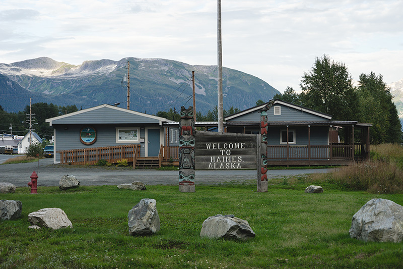 Visitors Center, Haines, AK.