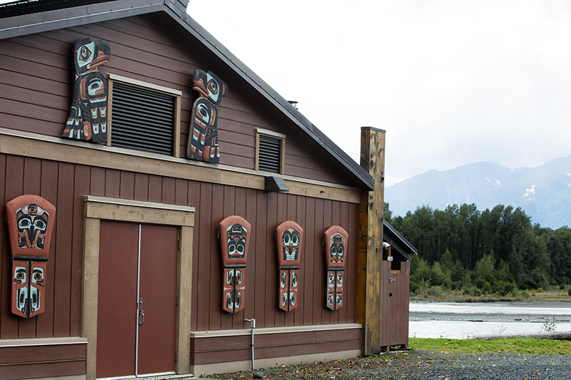 Hospitality Center Chilkat Indian Village Klukwan.