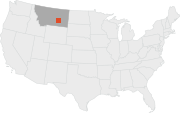 The Colstrip Power Plant is located in southern Montana.