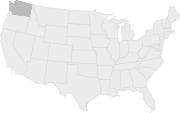 Map of Washington State.