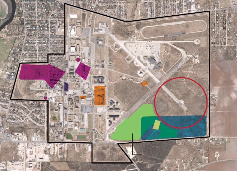 Superfund Sites Near Proposed Housing at Goodfellow AFB.