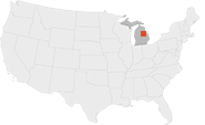 The Karn coal-burning power plant is located in Michigan.