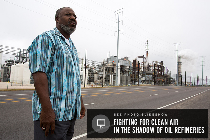 Across the U.S., 143 refineries pump out more than 22,000 tons of emissions that are known to cause cancer, birth defects, asthma and other health problems.