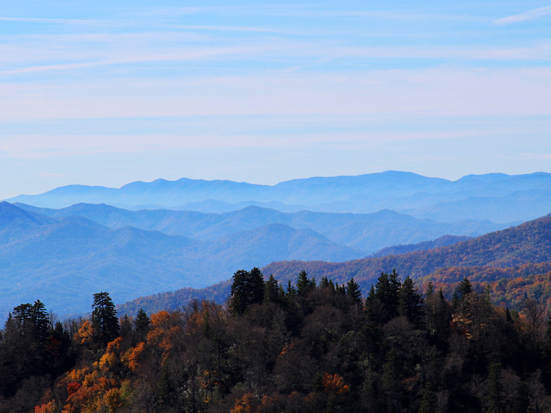 Great Smoky Mountains National Park is known for its blue haze, but air pollution is greatly amplifying smog in the park and limiting visibility.