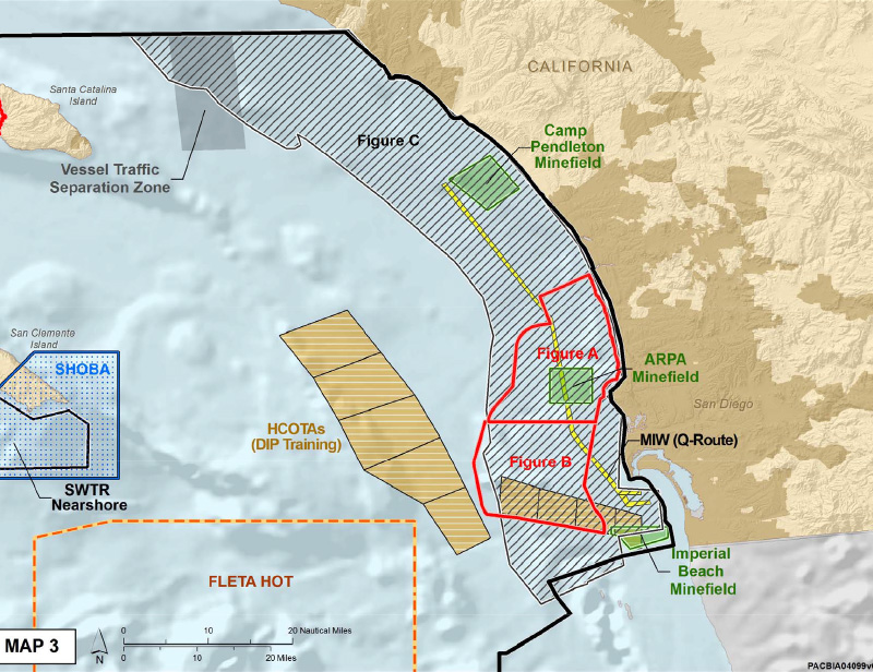 New Navy Agreement Means Dolphins Wont Die In Vain Earthjustice - Us minefield map