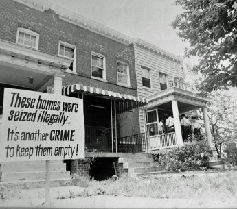 Homes in Washington, D.C.'s Brookland neighborhood were condemned to clear room for a highway in the 1960s. The community fought back.