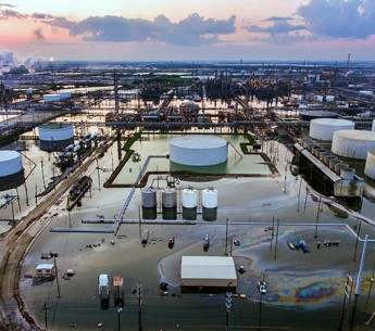 The nation's largest oil refinery, owned by Motiva and located in Port Arthur, Texas, was forced to shut down due to flooding from Hurricane Harvey.