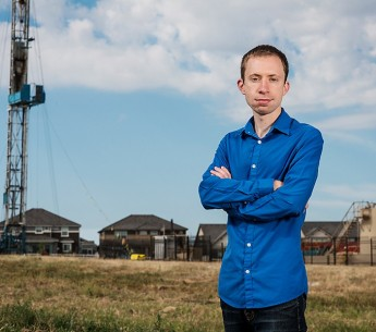 Earthjustice attorney Joel Minor works to protect communities from the harmful impacts of energy development