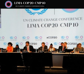 The UN climate talks in Lima, Peru.