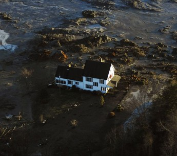 A coal ash spill in Tennessee in 2008 destroyed or damaged two dozen nearby homes